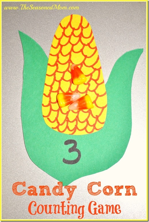 candy corn counting game