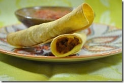 Beef and Cheese Taquitos