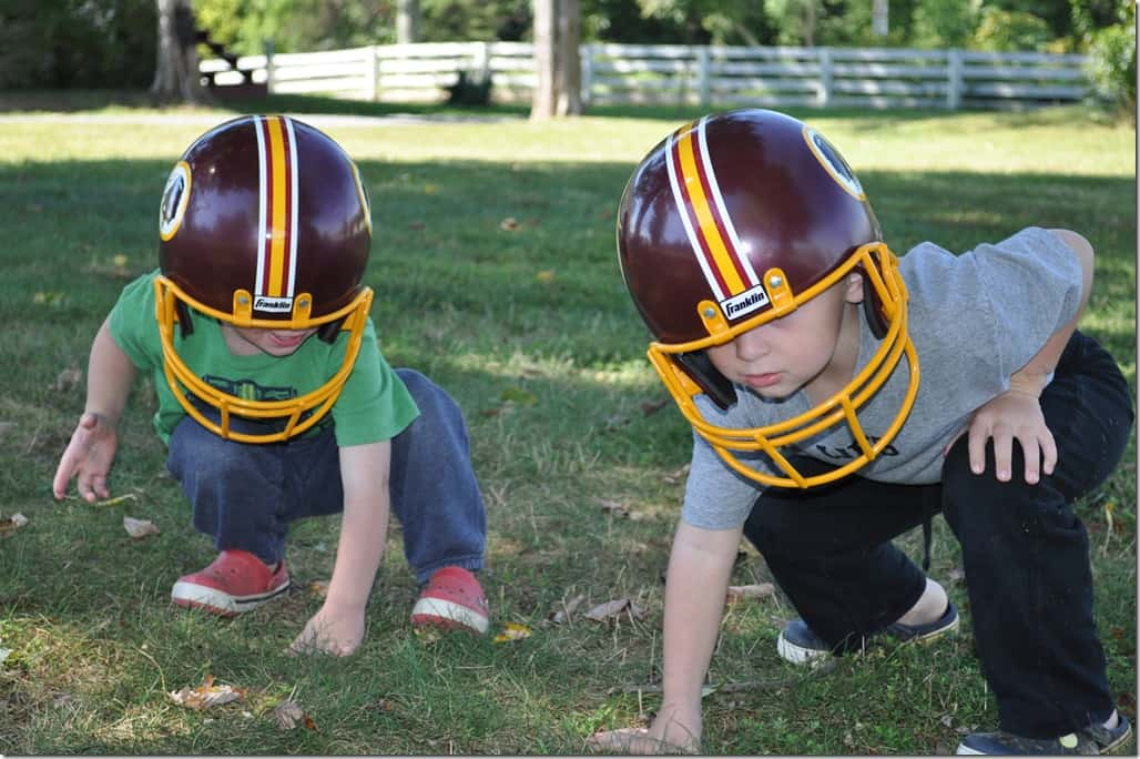 Boys in Helmets 2