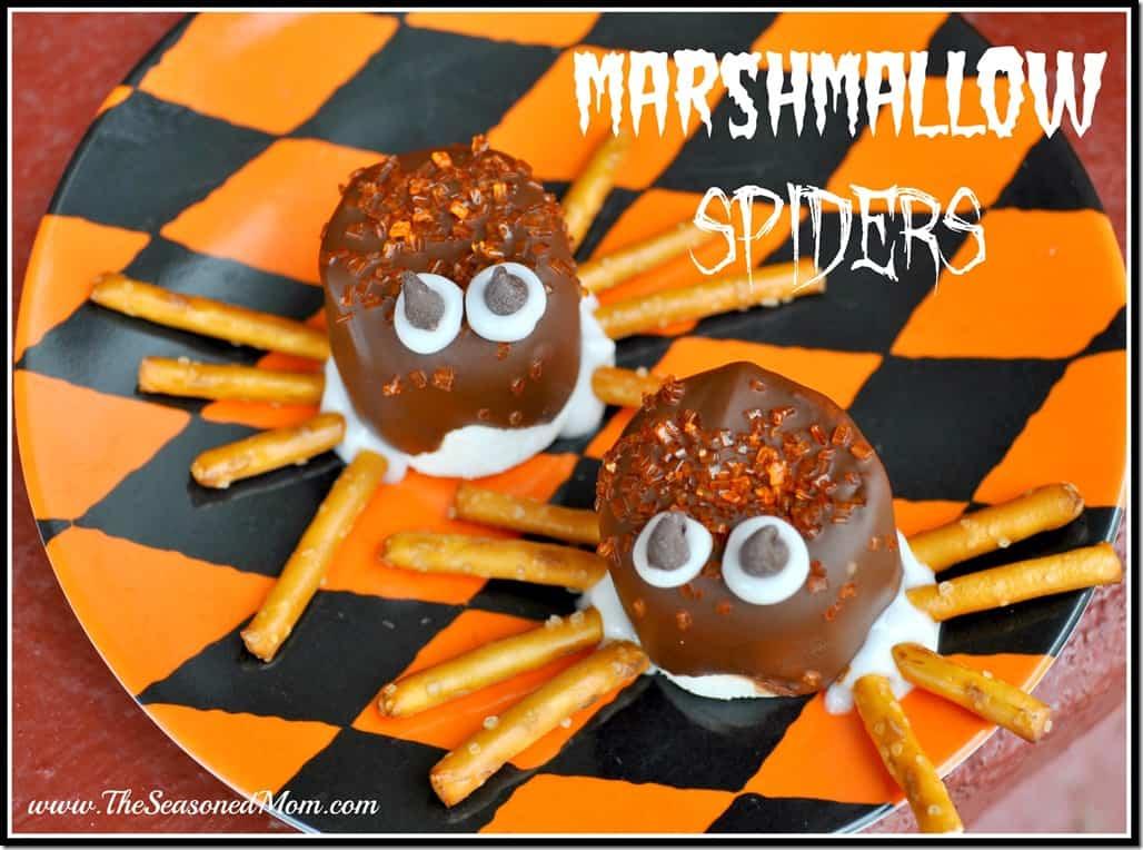Marshmallow Spiders
