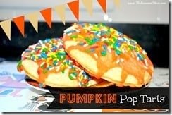 Pumpkin Pop Tarts