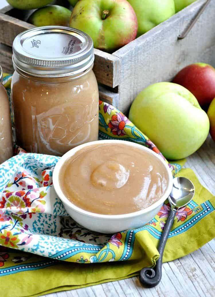 Slow Cooker Applesauce 3