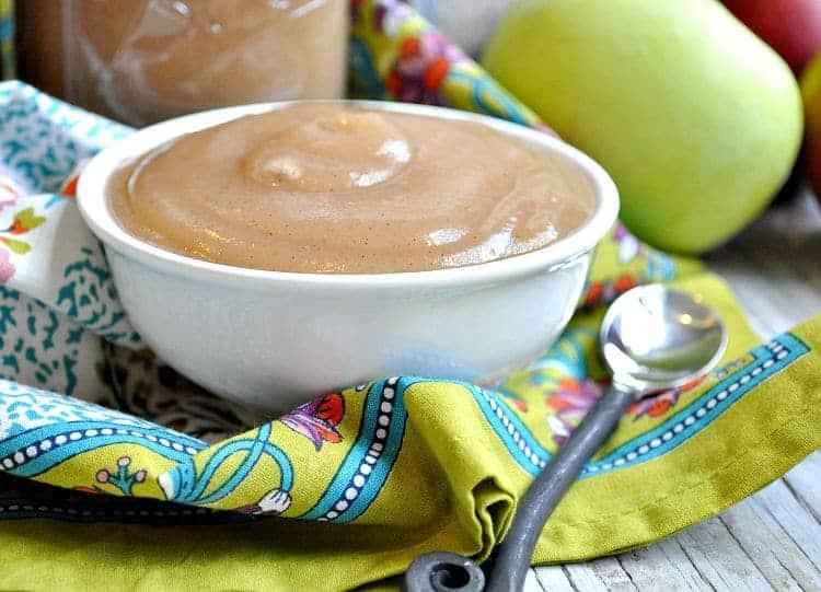 Slow Cooker Applesauce 5