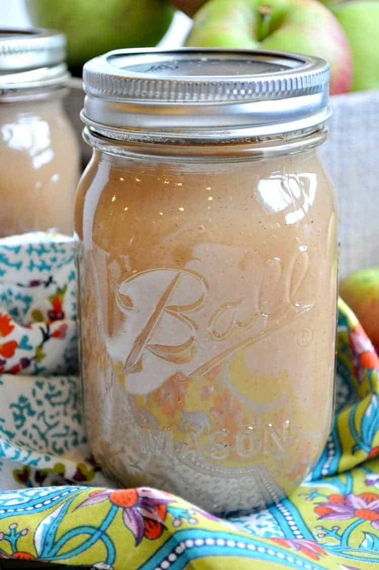Slow Cooker Applesauce 7