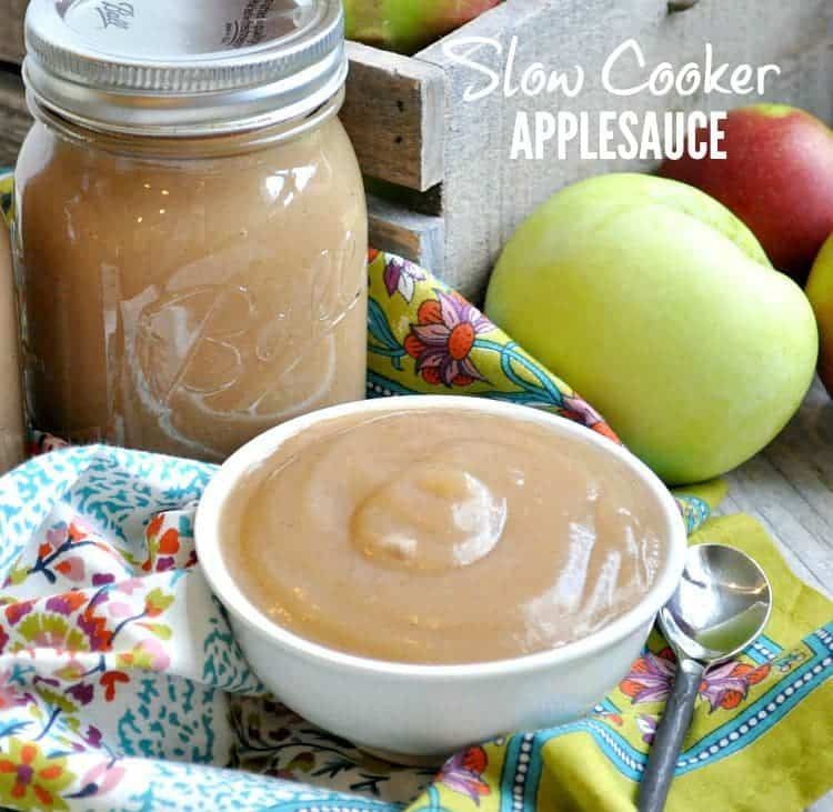 Slow Cooker Applesauce TEXT