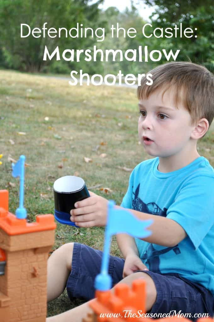 Defending the Castle Marshmallow Shooters