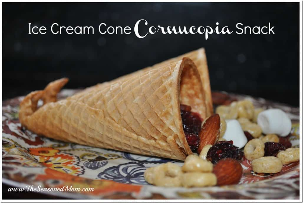 Ice Cream Cone Cornucopia Snack