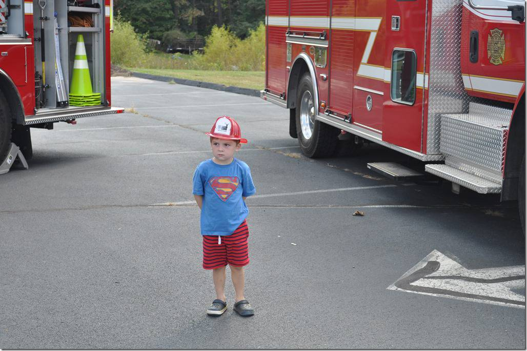 Visiting the Fire Station