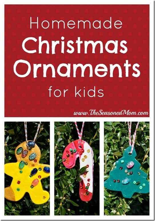 Homemade Christmas Ornaments The Seasoned Mom