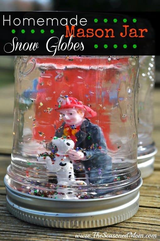 Easy homemade advent calendar the seasoned mom for Easy homemade christmas snow globes