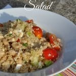 Quinoa, Chicken, and White Bean Salad