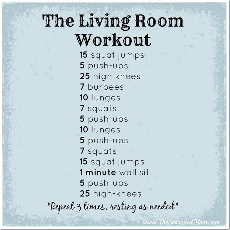 The Living Room Workout