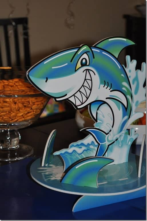 shark centerpiece
