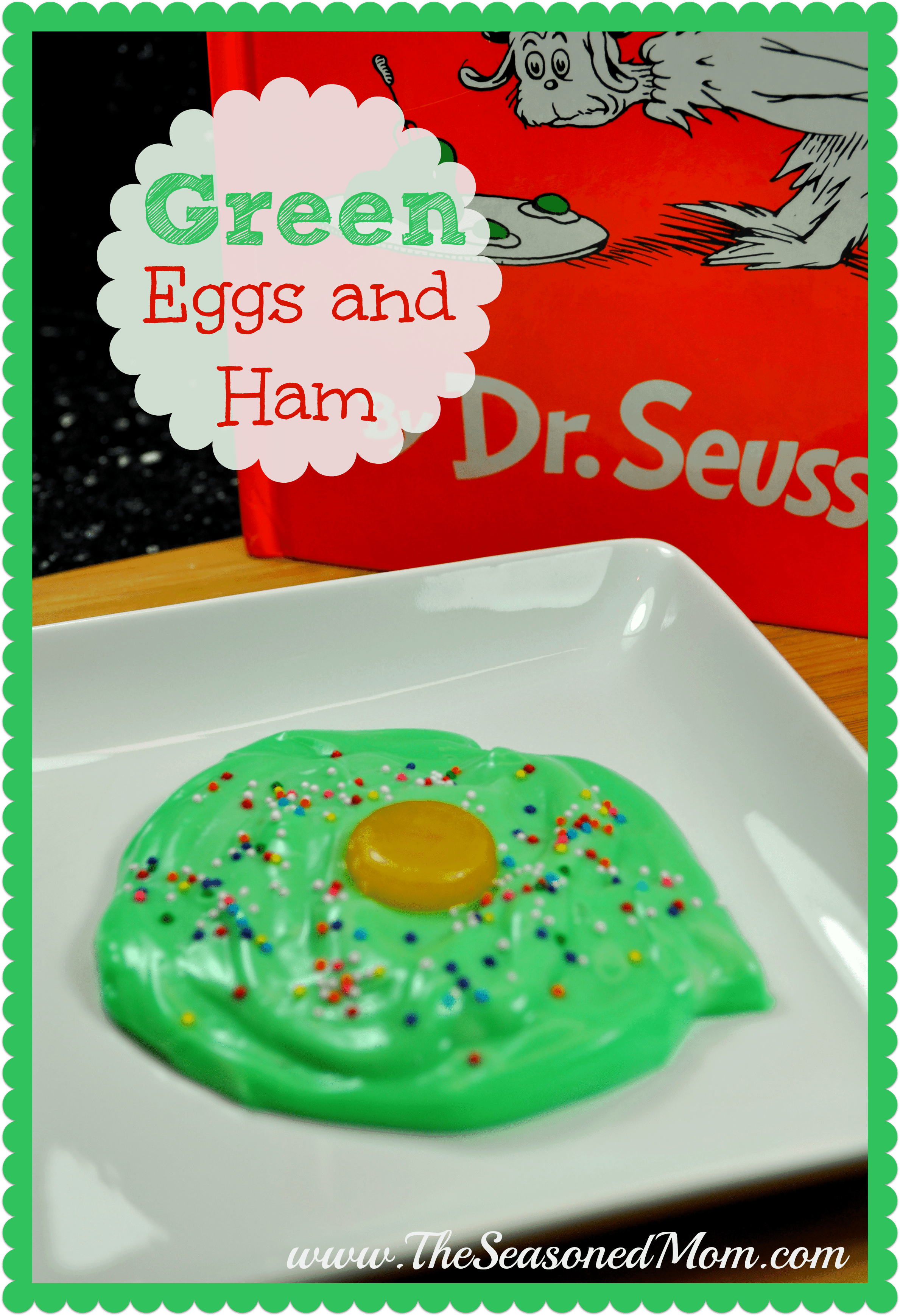 Dr. Seuss's Green Eggs and Ham Snack - The Seasoned Mom