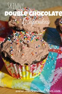 Skinny Double Chocolate Cupcakes