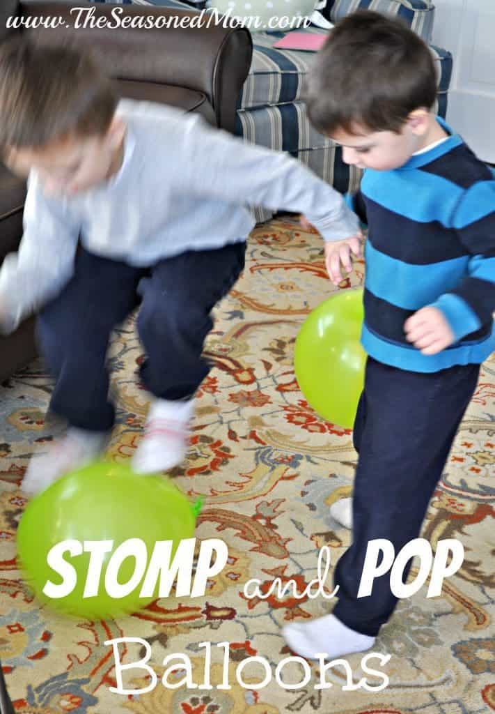 Stomp and Pop Balloons