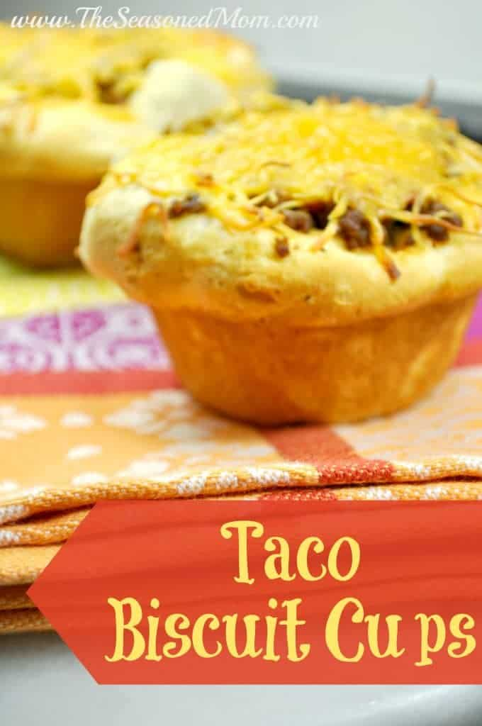 Taco Biscuit Cups