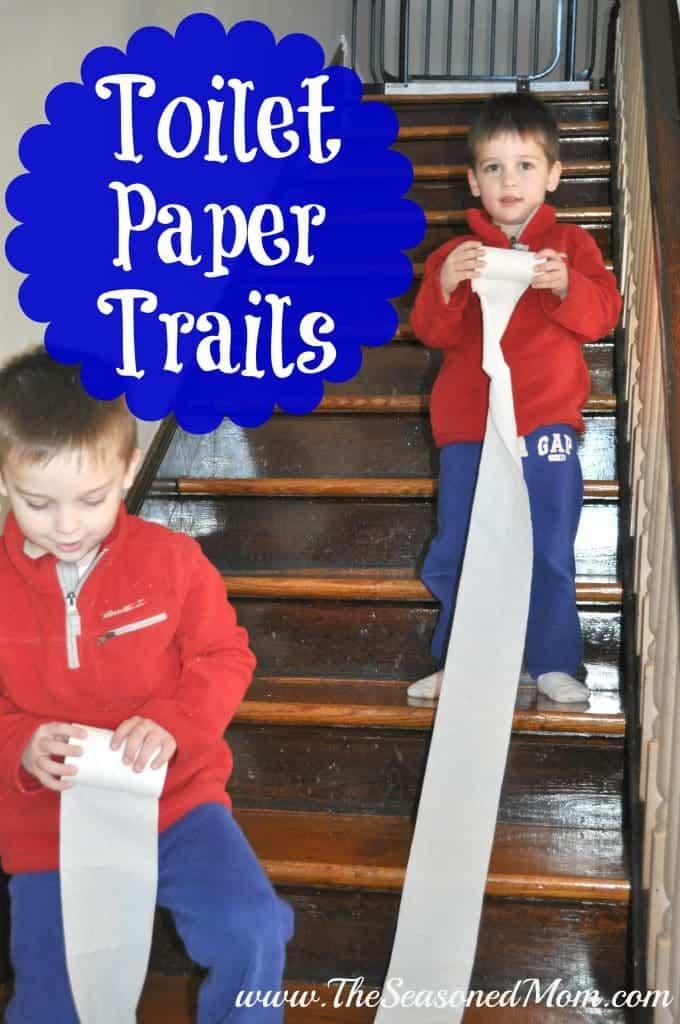 Toilet Paper Trails