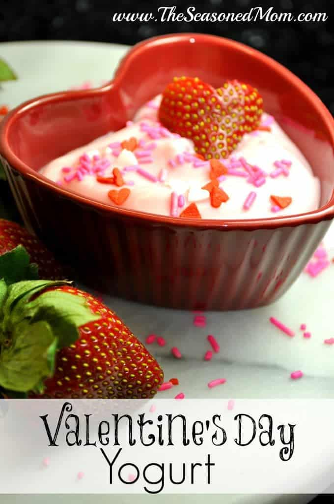 Valentine's Day Yogurt Breakfast