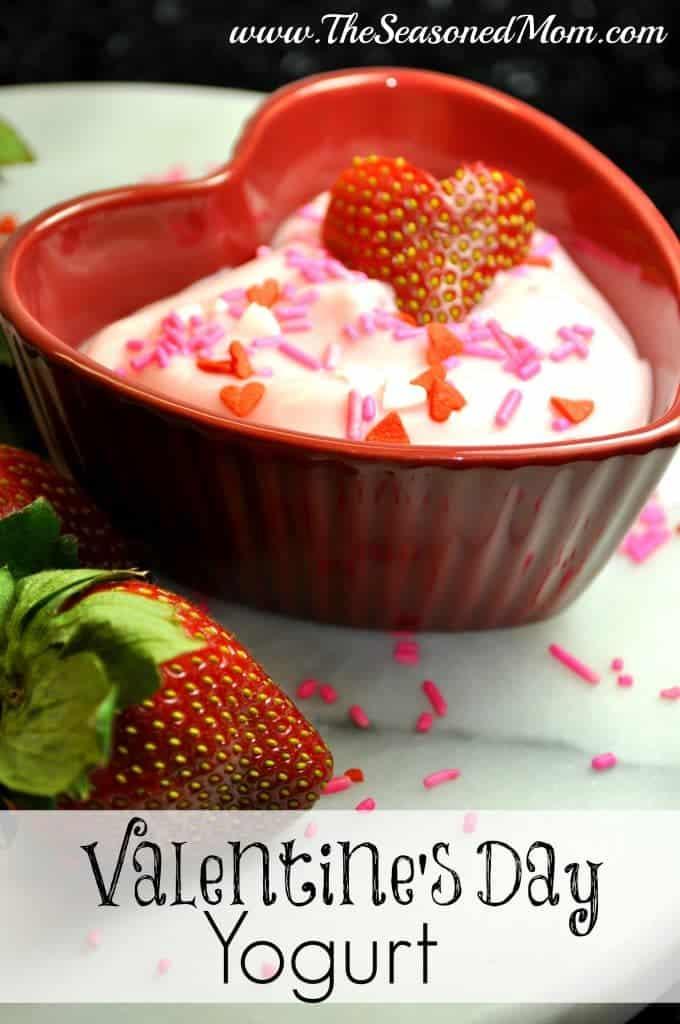 Valentine's Day Yogurt