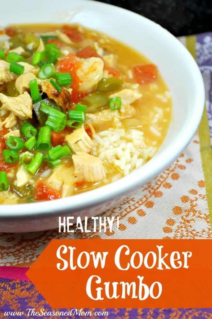 Healthy Slow Cooker Gumbo