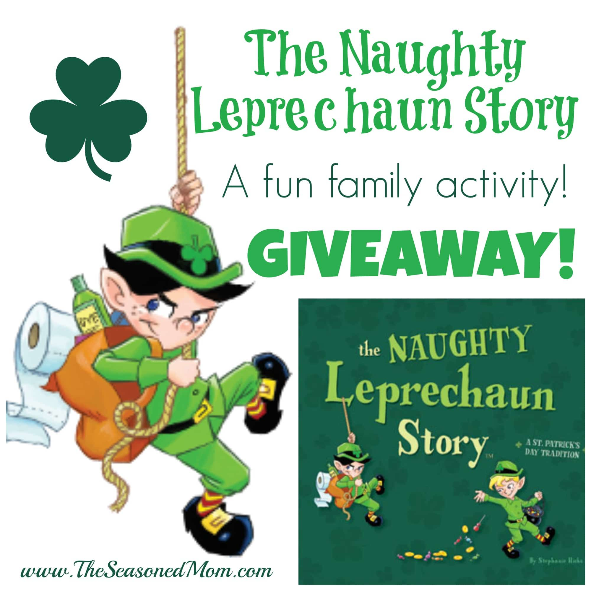 the naughty leprechaun story a giveaway the seasoned mom