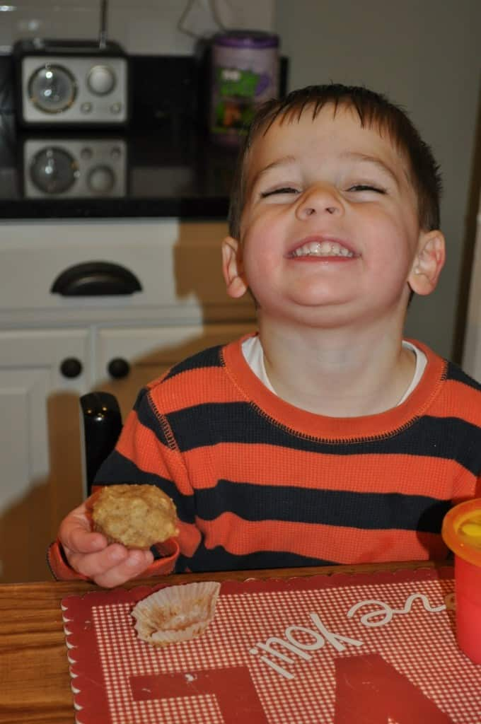 Cooking With Kids Series Maple And Spice Yogurt Muffins