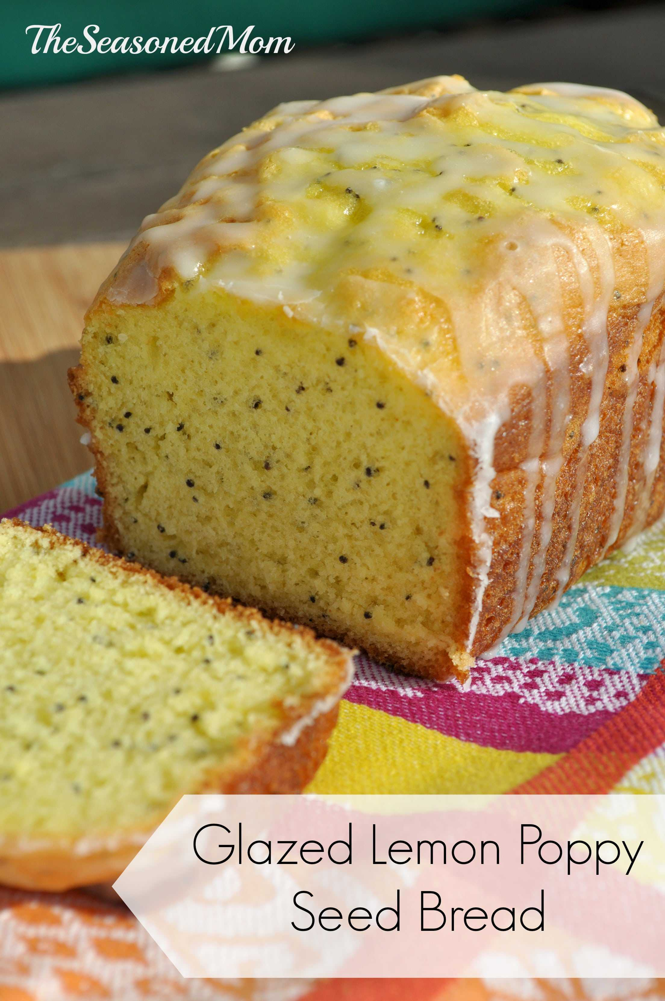 Lemon Poppy Seed Bread With Cake Mix