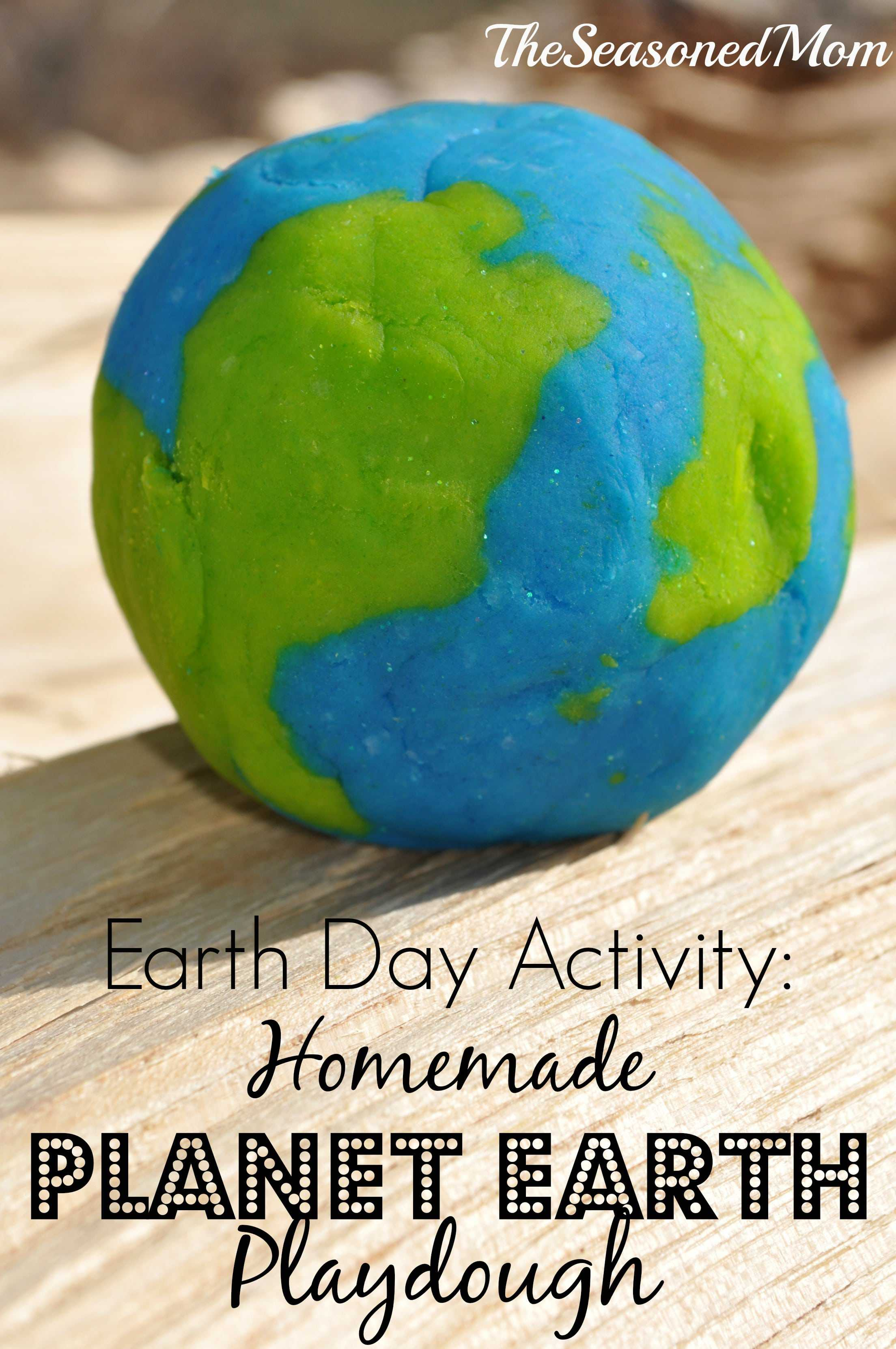 Earth Day Activity: Homemade Planet Earth Play Dough - The ...