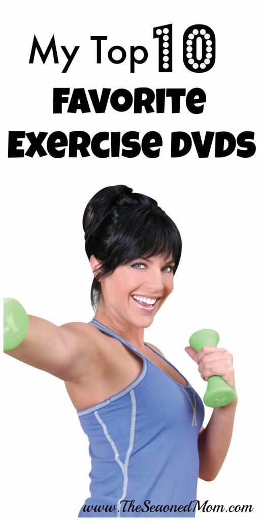 My Top 10 Favorite Exercise DVDs
