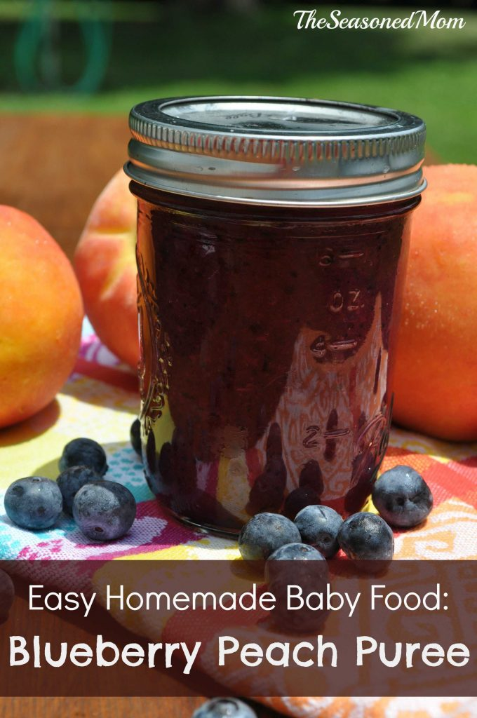 Blueberry Peach Puree