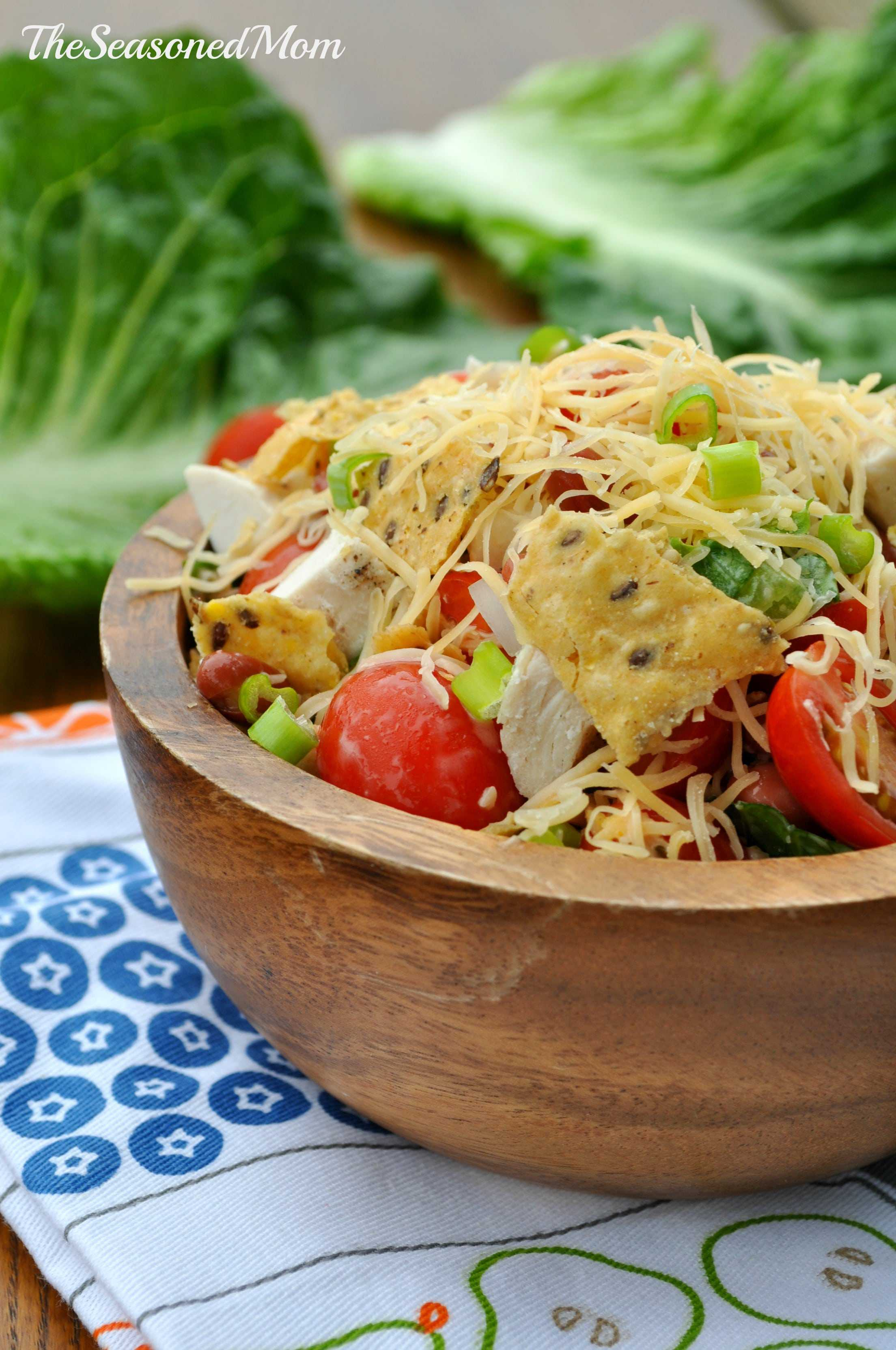 Mexican Ranch Chicken Salad - The Seasoned Mom