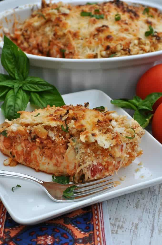 Chicken Parmesan Bake 2
