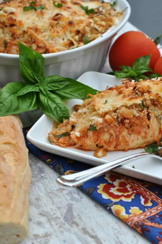 Chicken Parmesan Bake 3