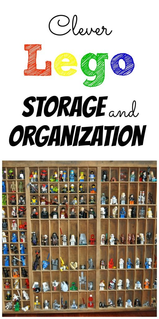 Clever Lego Storage and Organization