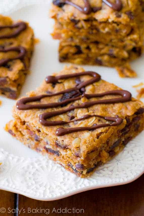 healthy oatmeal fruit bars chocolate covered fruit recipe