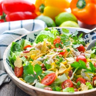 Mexican Chicken Salad {Instant Pot + Slow Cooker Option!}