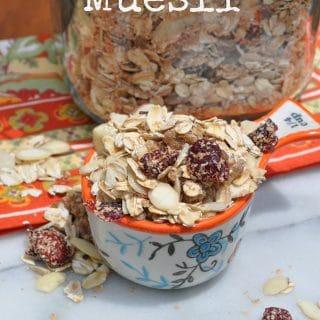 A Clean Eating Breakfast or Snack: Muesli!
