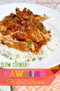Slow Cooker Hawaiian Barbecue Chicken