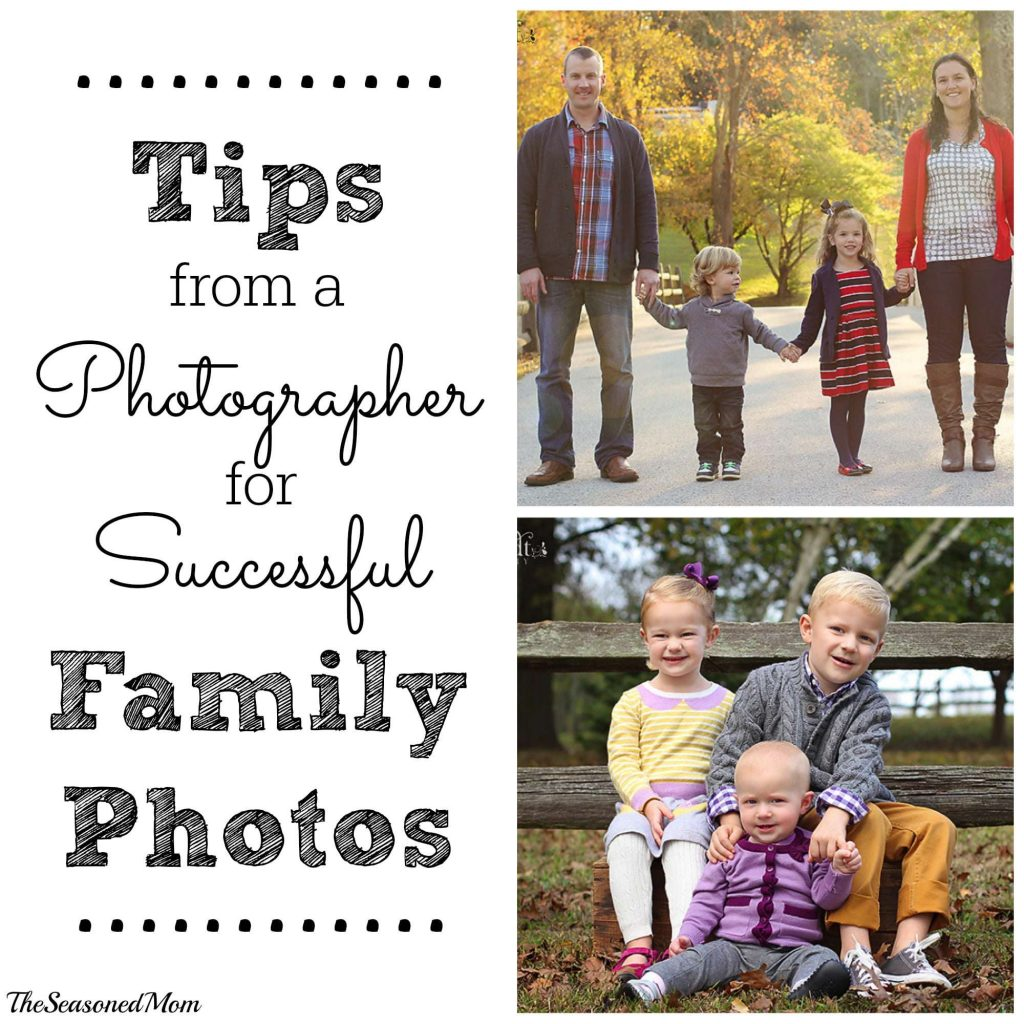 Tips for Family Photos
