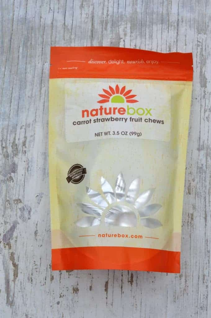 Carrot Strawberry Fruit Chews in Bag