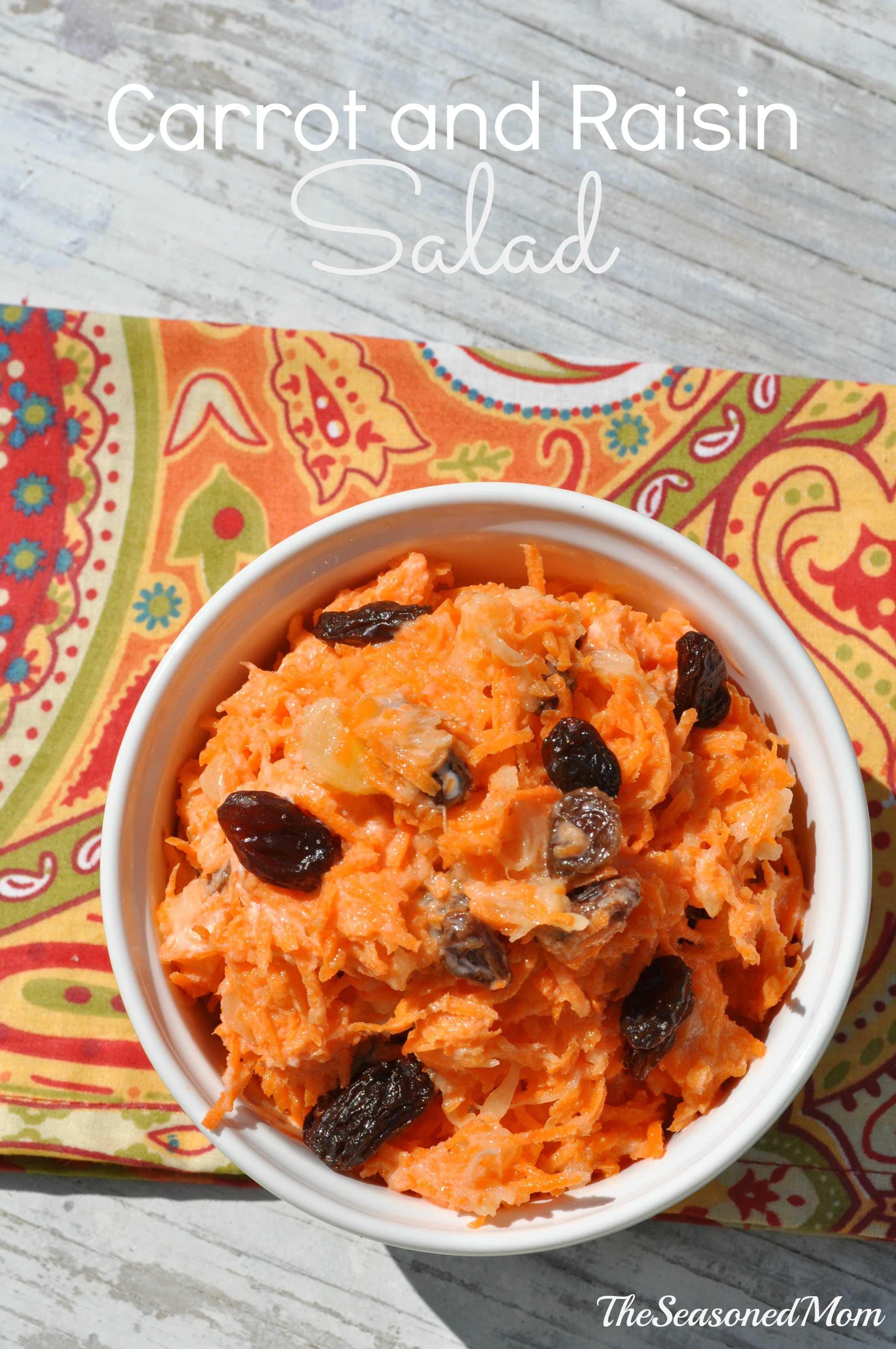 Carrot and Raisin Salad