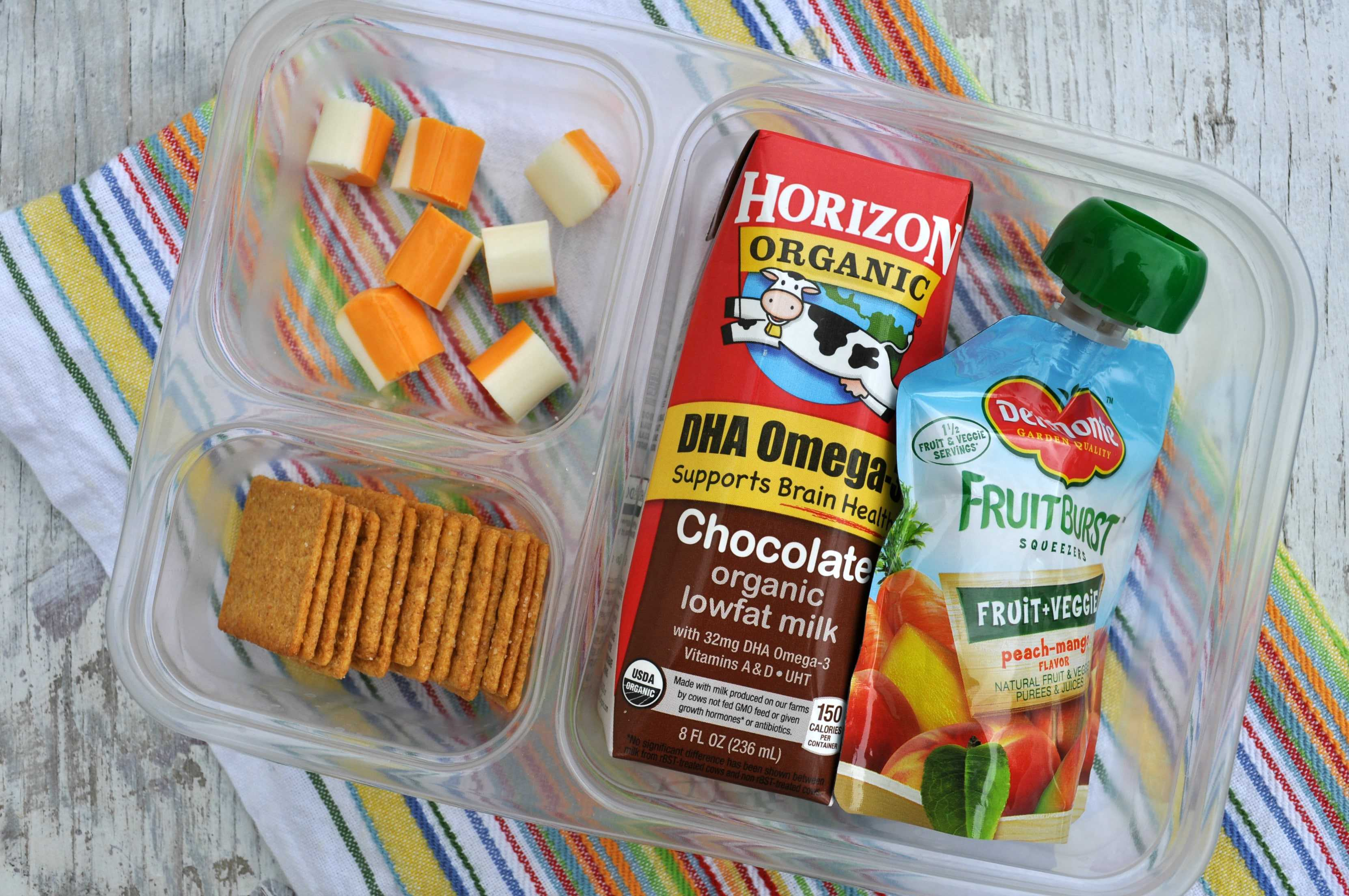 When it comes to healthy lunchboxes for my kids, there are two sides to me: food-loving dietitian mommy, and woman who gets really bored—really quickly—with packing kids' lunch boxes. One one hand, making a balanced and tasty healthy lunch for my girls each day is my highest priority. But.