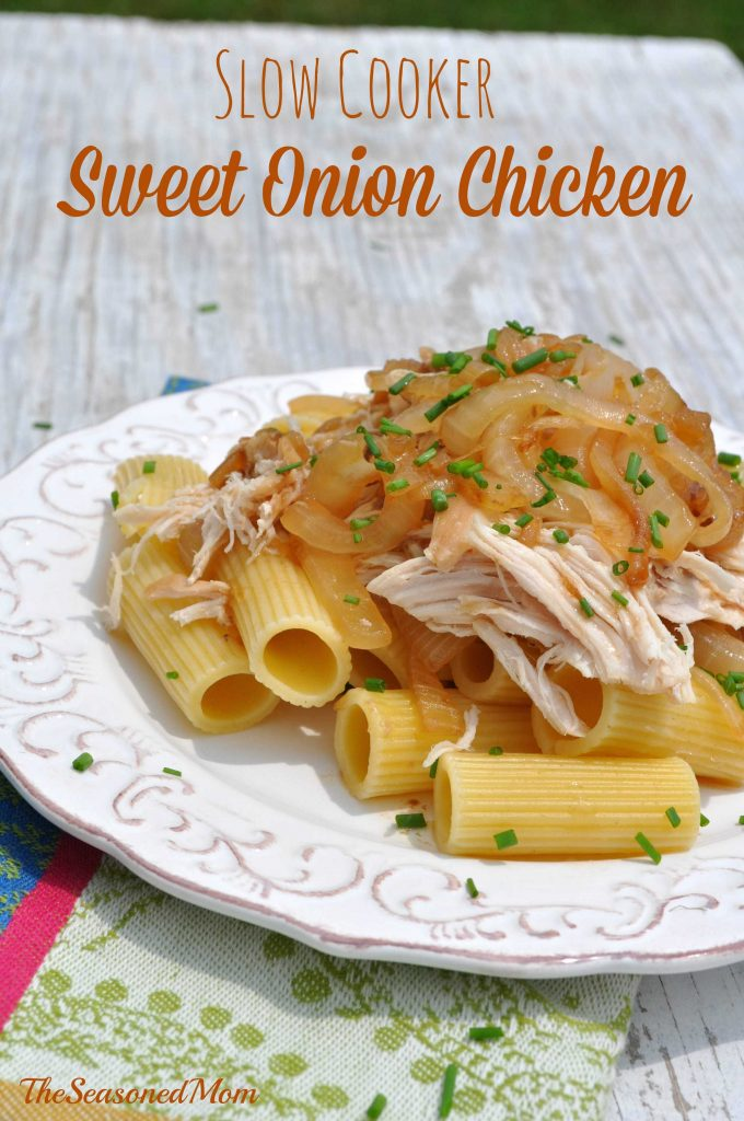 Slow Cooker Sweet Onion Chicken
