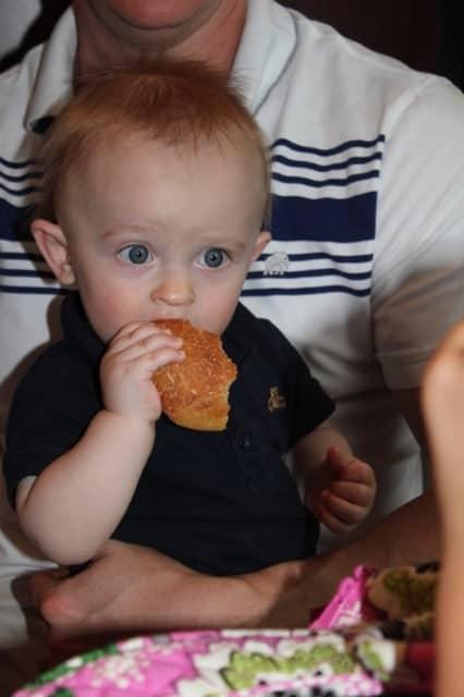 Tristan Eating 1