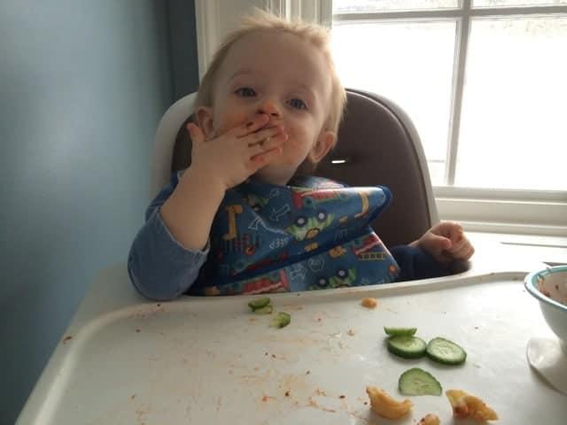 Tristan Eating 2