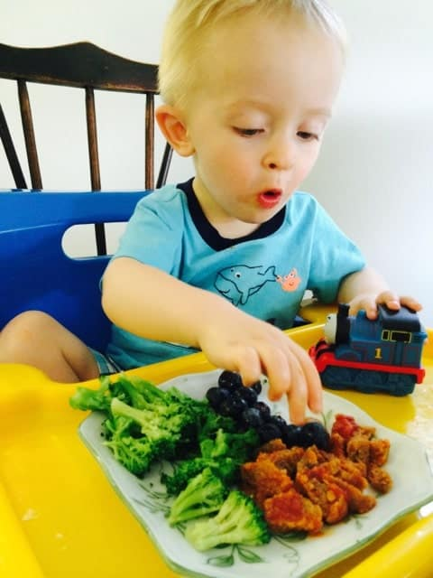 Tristan Eating 3