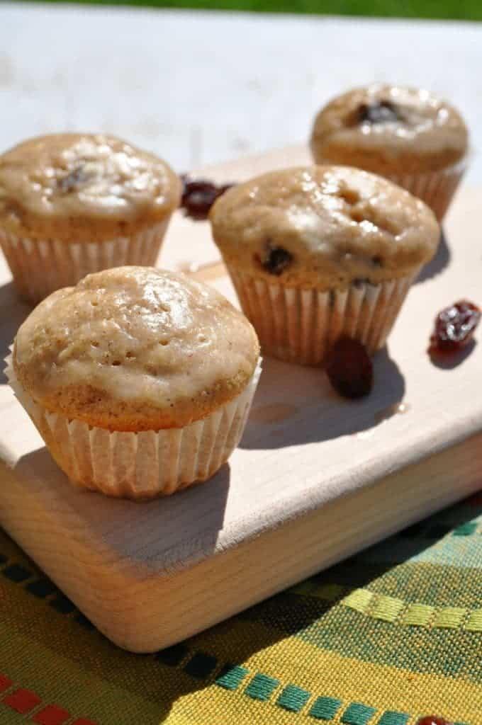 Whole Grain Cinnamon Raisin Pancake Poppers 2