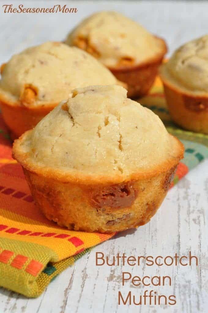Butterscotch Pecan Muffins