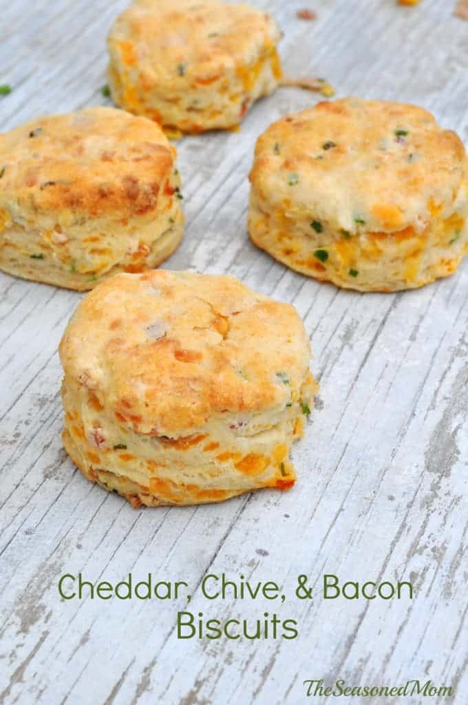 Cheddar Chive and Bacon Biscuits 2